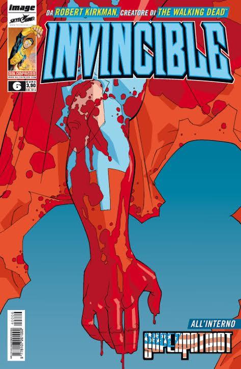 Invincible #6 in edicola e in fumetteria dal 25 giugno