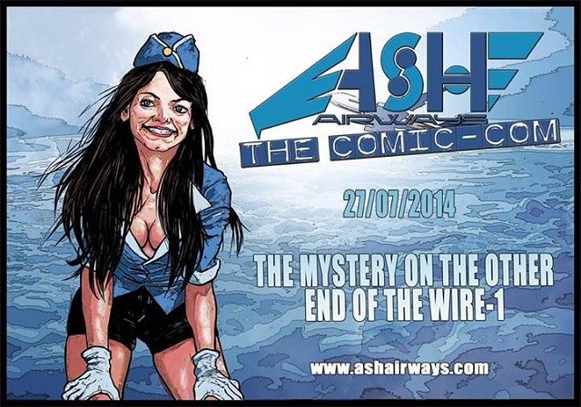 """Un nuovo web Comics: """"Ash Airways the Comic - com"""""""