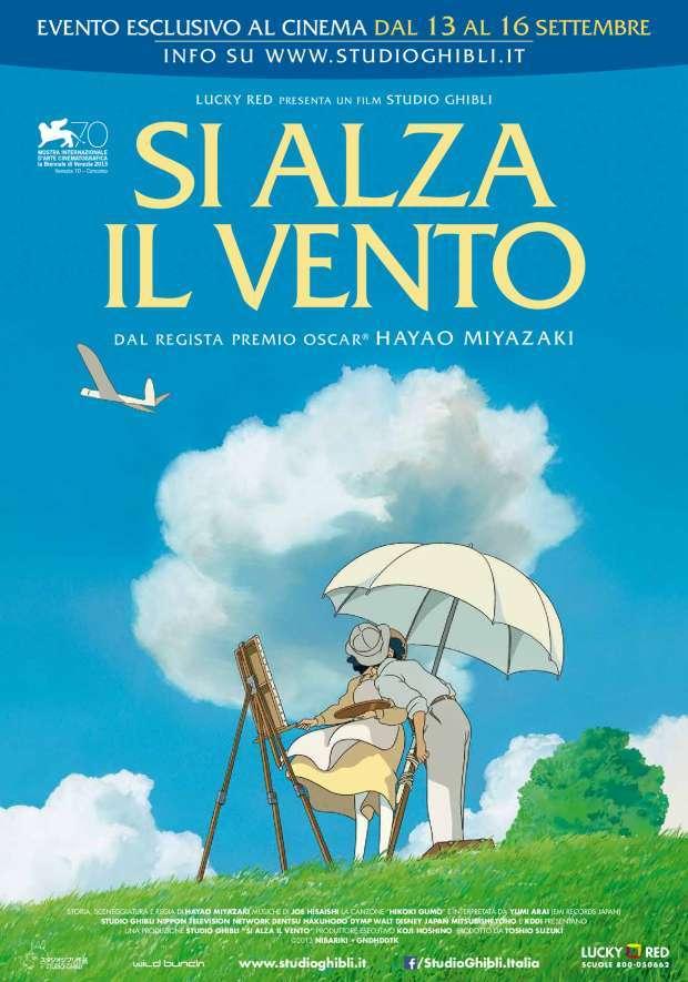 Si alza il Vento - Il film di Miyazaki al cinema dal 13 al 16 settembre
