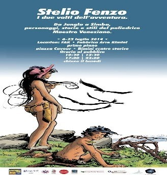 Stelio Fenzo espone a Rimini in occasione dei 30 anni del Cartoon Club