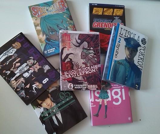 Le uscite J-Pop e GP Manga del 17 luglio 2014