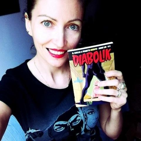 Barbara Baraldi autrice per Diabolik