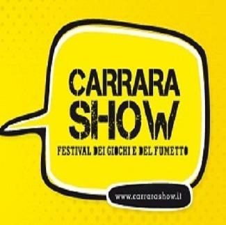 """Prima edizione """"Carrara Show"""" fiera del gioco, fumetto e videogame"""