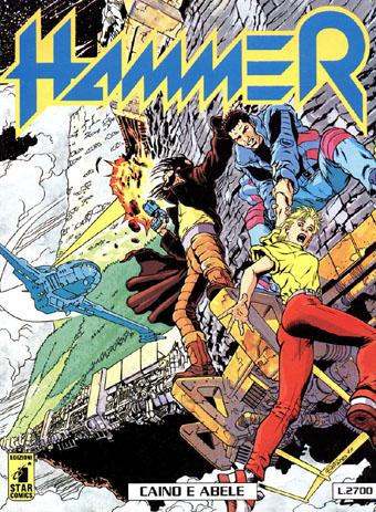 Copertina di Hammer #5