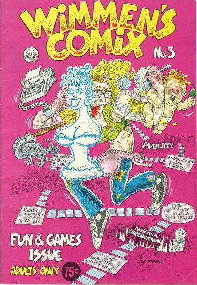 Wimmen's Comix num.3
