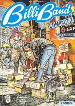 Copertina di Billiband una delle opere giovanili di De Nardo