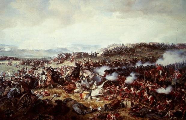 Hénry Philippoteaux: La carica dei Corazzieri francesi a Waterloo