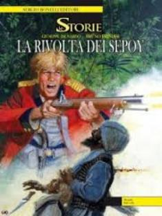 """Copertina de """"La Rivolta dei Sepoy"""""""