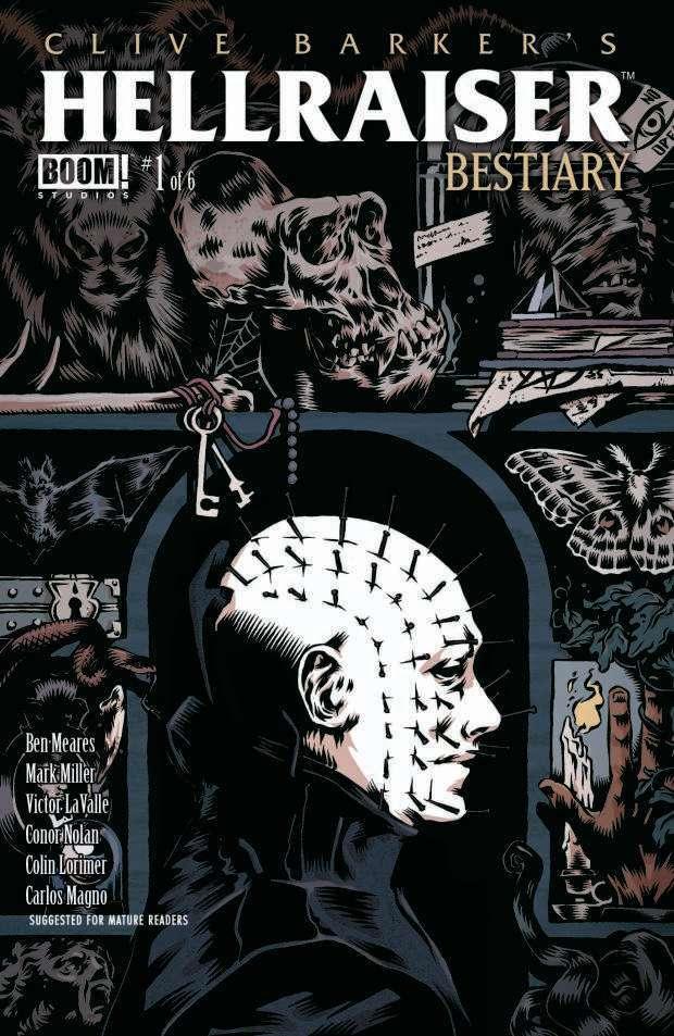 Boom Studios lancia antologia su Hellraiser