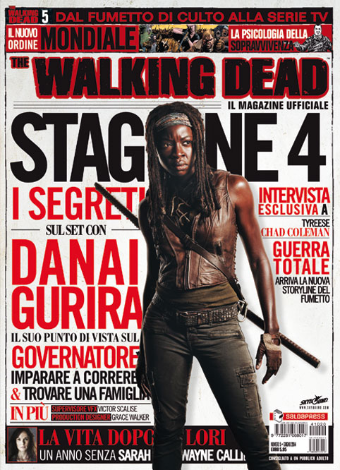The Walking Dead Magazine #5 è in edicola