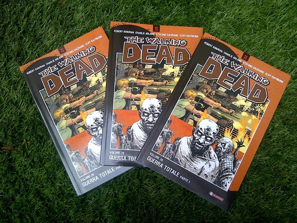 "The Walking Dead 20 ""Guerra totale parte 1"": in fumetteria da venerdì 11"