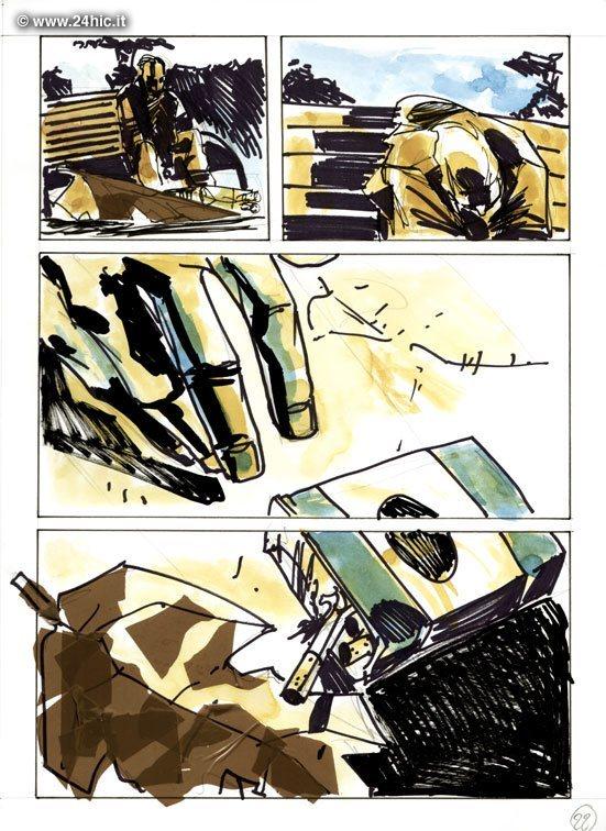 24HIC - L'appuntamento - Carmine Di Giandomenico (2005)_24 Hour Comics