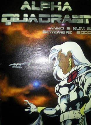 Copertina della fanzine Alpha Quadrant #6