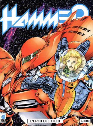 Copertina di Hammer #11 - L'urlo del cielo