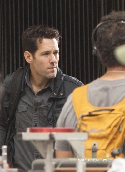 Marvel's 'Ant-Man' filming