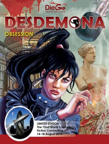 """Desdemona de """"L'Insonne"""" sbarca nel Regno Unito"""
