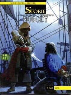 """Copertina di """"Nobody"""" decimo numero de """"Le Storie"""""""