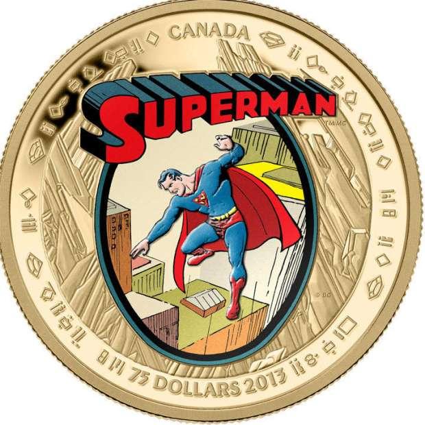 Canada: ancora monete per celebrare Superman
