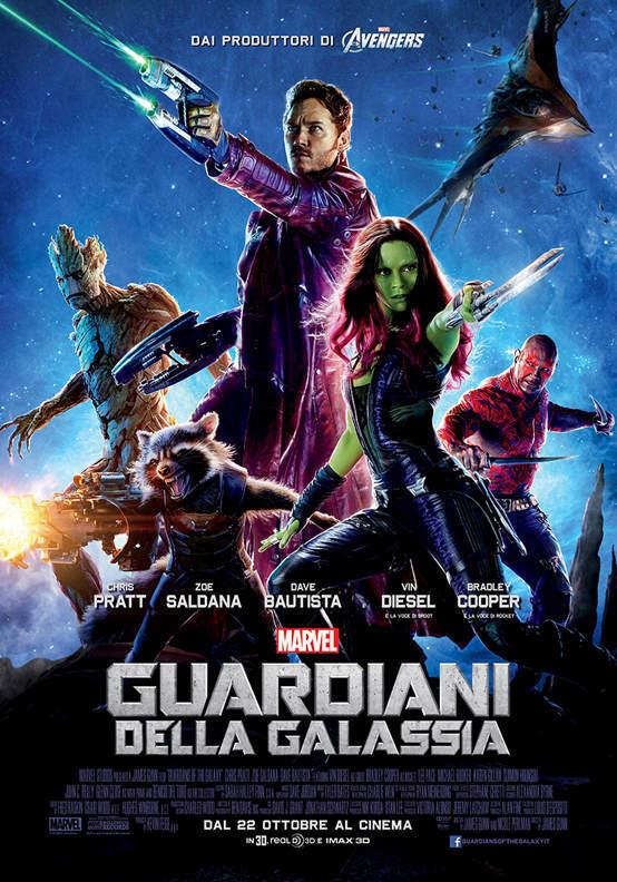 Box Office Usa: I Guardiani ancora primi, Sin City affonda