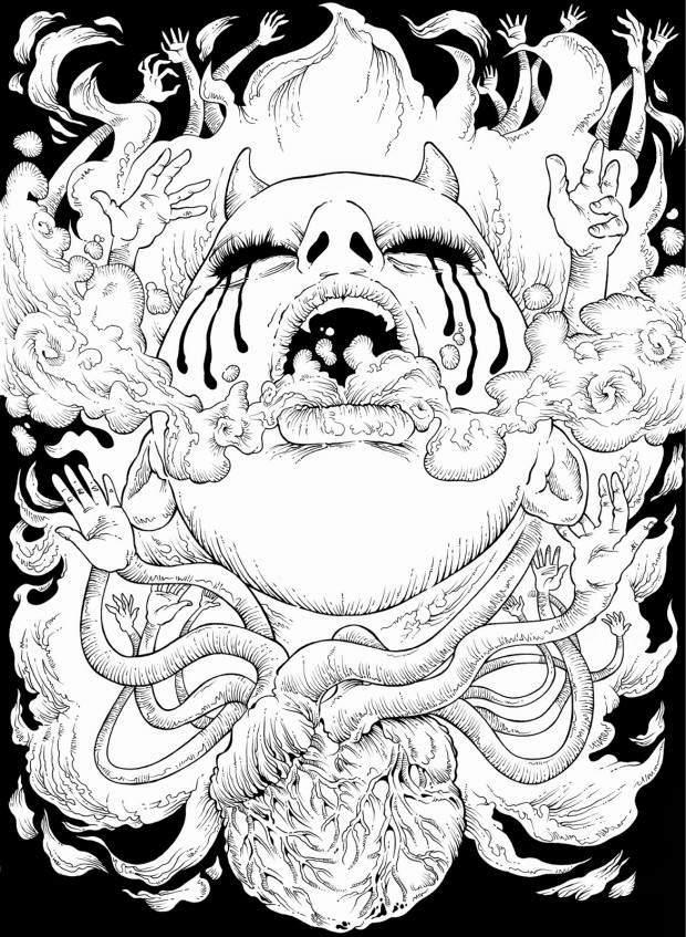 UDWFG, un'antologia della produzione fumettistica underground internazionale