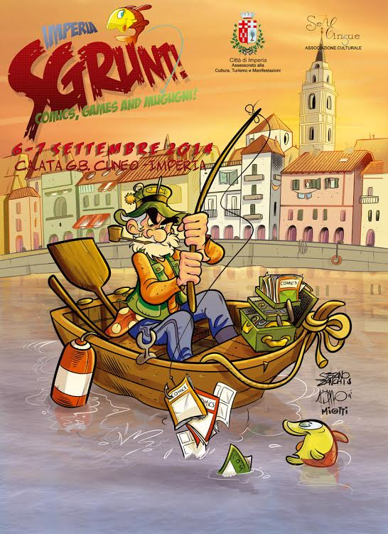 "Prima edizione di ""Imperia Sgrunt! - Comics, Games and Mugugni"""