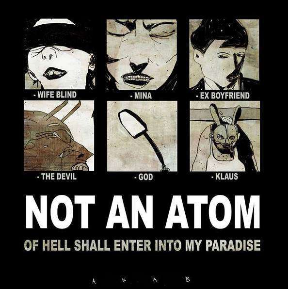 "A Berlino il nuovo lavoro di Akab: ""Not An Atom Of Hell Shall Enter Into My Paradise"""