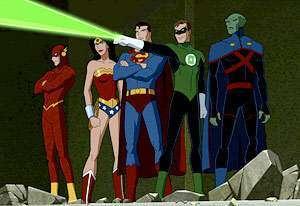 Justice League: nuova serie animata nel 2015
