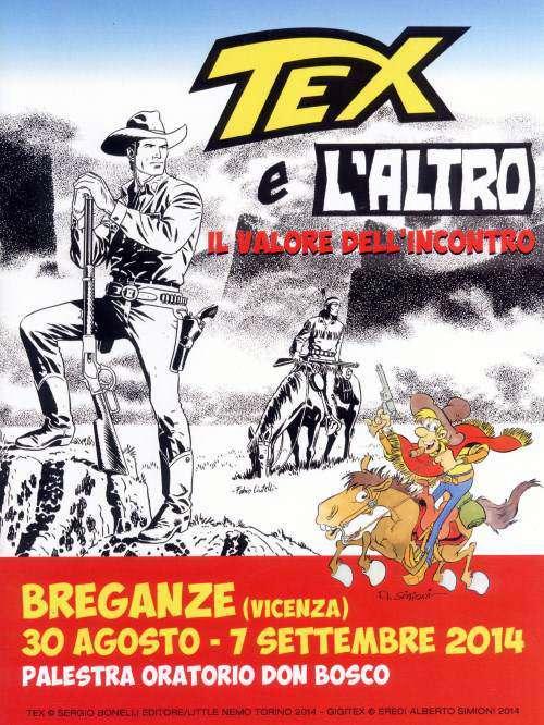 2. Copertina catalogo mostra Tex e l'altro