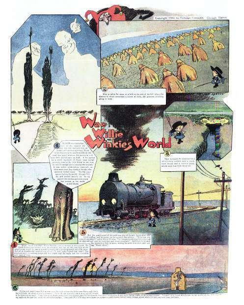 300: Lyonel Feininger - The Kin-Der-Kids e Wee Willie Winkie's World