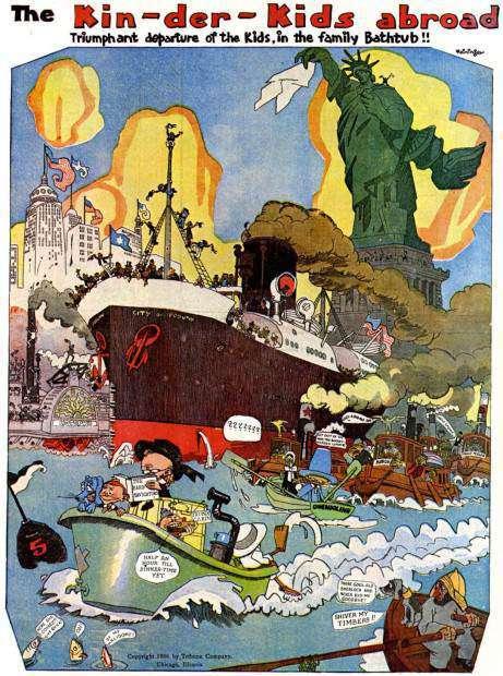 300-Feininger-kin-fer-kids-e1411071528270_300: biblioteca essenziale del fumetto