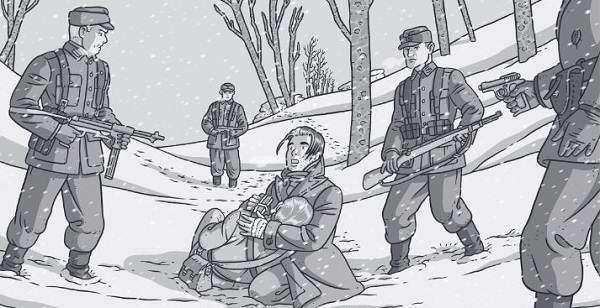 L'inverno di Diego. Le quattro stagioni della Resistenza (Baldazzini)