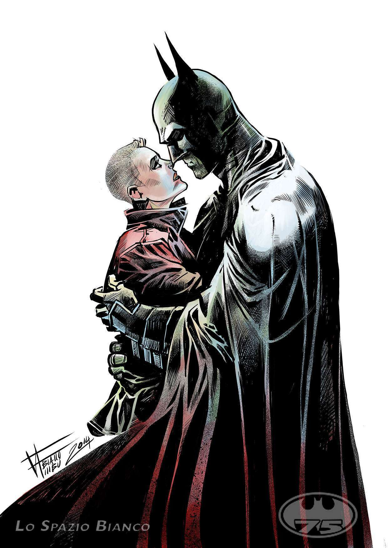 Batman & Tesla [Fabiano Ambu] DEF