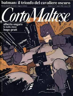 Andrea Voglino e il ritorno di Batman nelle edicole italiane a metà anni '90