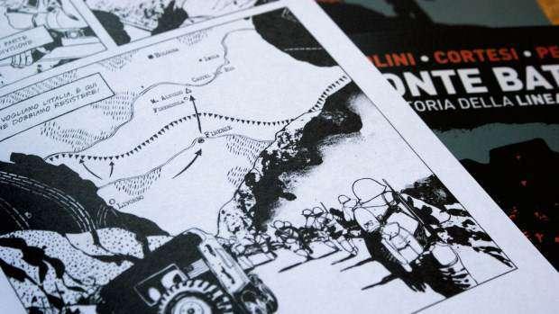"""Il fumetto """"Monte Battaglia"""" apre le manifestazioni per i settanta anni di Monte Battaglia"""