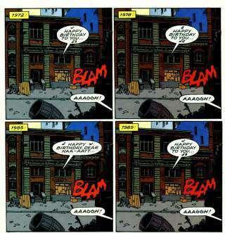 Dal n. 57, p. 5. © dc Comics.