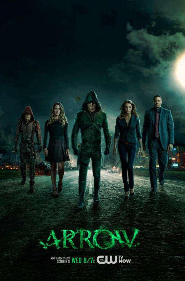 Arrow: nuovo poster terza stagione