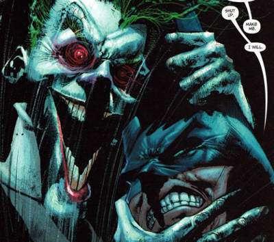 Joker e Batman da Secrets di Sam Kieth