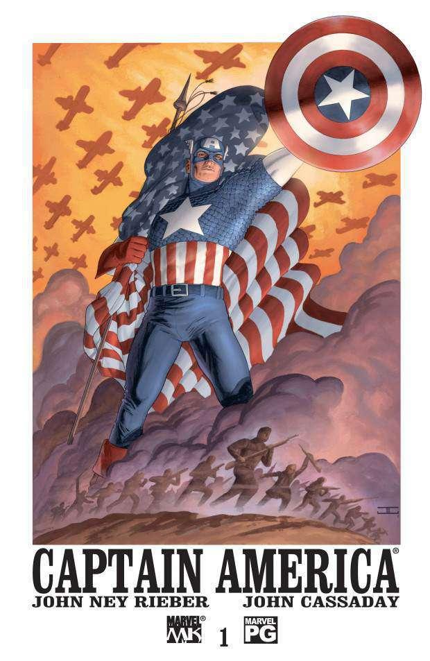 capitan america 1 copertina