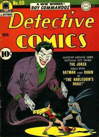 La copertina di Detective Comics #69