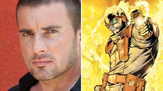 The Flash: Dominic Purcell è Heat Wave