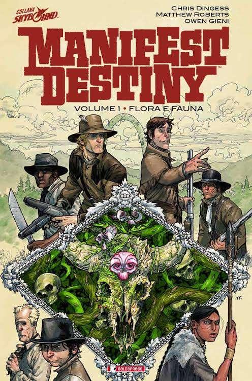 """E' disponibile il primo volume della nuova serie Skybound/Salda: """"Manifest Destiny"""""""