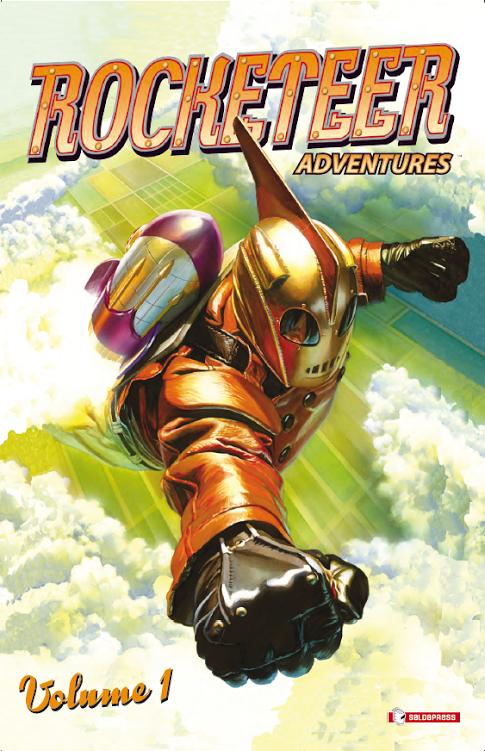 """Da saldaPress arrivano """"Le nuove avventure di Rocketeer"""" il personaggio di Dave Stevens"""