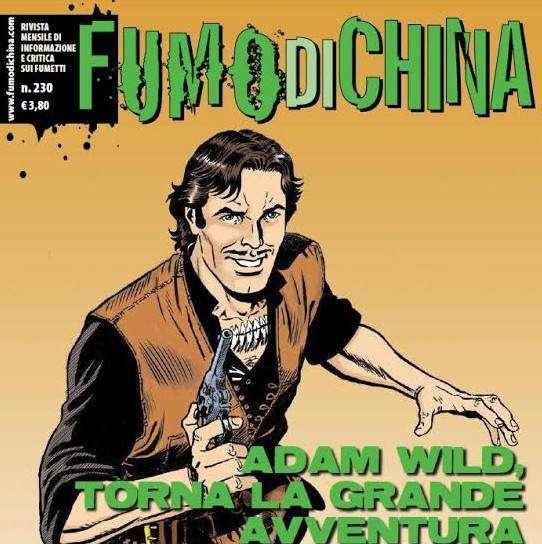 """""""Fumo di China"""" n.230 in edicola e fumetteria"""