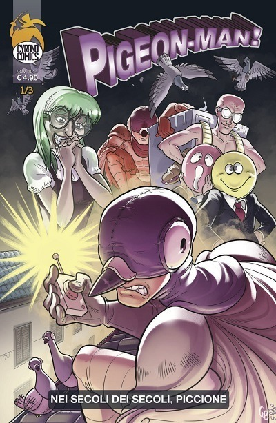 Pigeonman 2 cover