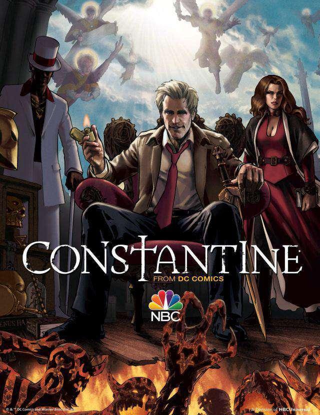 Constantine: nuovo spot e poster illustrato