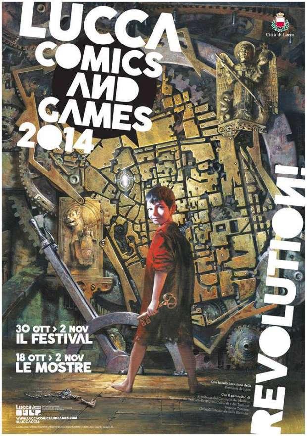 Alle porte di Lucca Comics & Games 2014: Renato Genovese