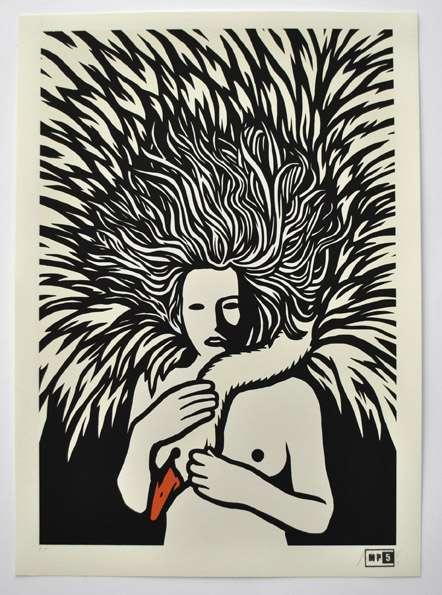"""E' iniziata la vendita di """"The Great Mother"""", nuova serigrafia di MP5"""