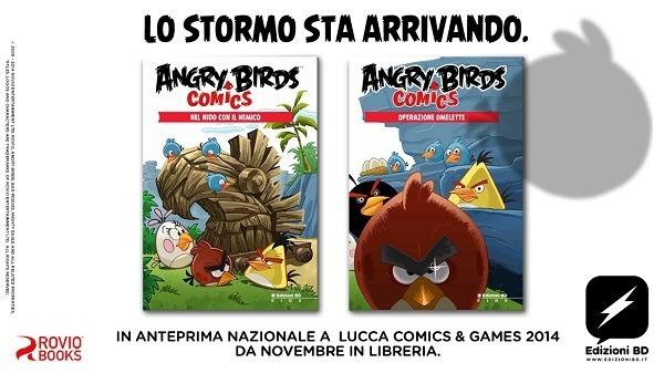 "Edizioni BD presenta ""Angry Birds Comics"""