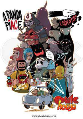 """A Panda Piace l'Avventura Tour 2014"" arriva al Comic House di Sarzana"
