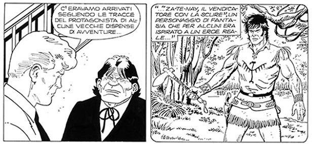 Martin Mystere #335 – L'ombra di Za-Te-Nay (Perniola, Castelli, Devescovi, Romanini)